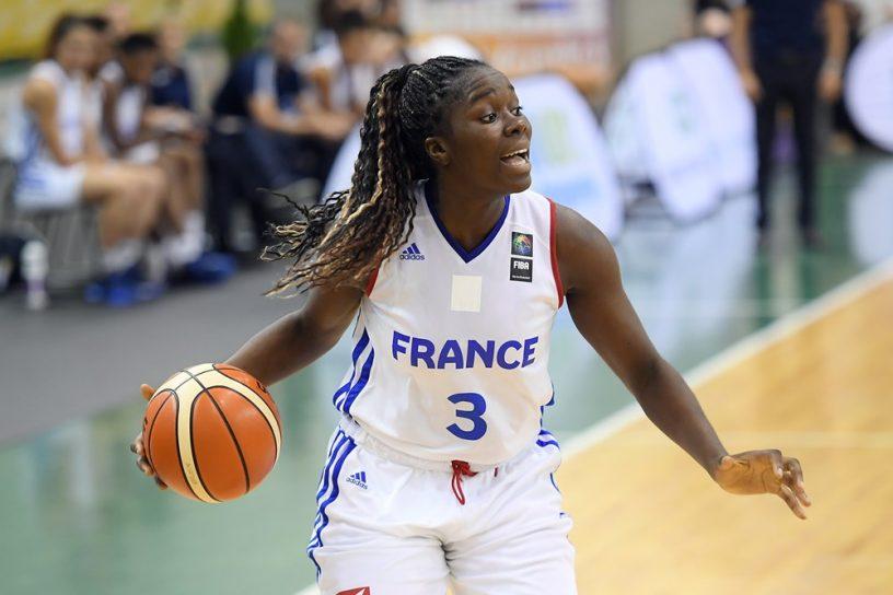 Le quator de l'équipe de France U20F