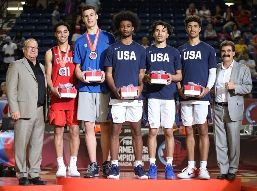 L'Americas u18, Quentin Grimes, Andrew Nembhard et les autres !