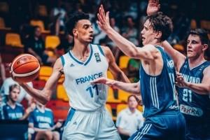 """Les """"bigs"""" de l'équipe de France U18"""