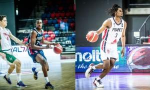 Houinsou/Doualla , retour sur les arrières Français au Challengers U18